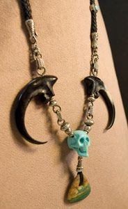 Jennifer Inge custom jewelry piece for Johnny Depp